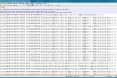 Generierte CSV-Datei mit dem Event-Log